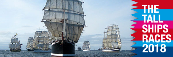 Banner Tall Ships Races 2018