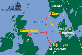 Tall Ships Races route 2018